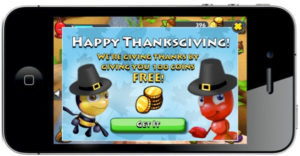 In-game mobile marketing