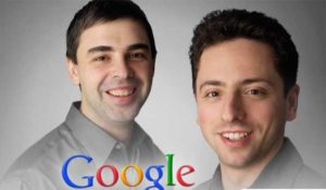 Larry Page and Seregy Brin